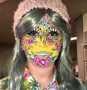 carnaval vastelaovend facepaint bellypaint workshop halloween